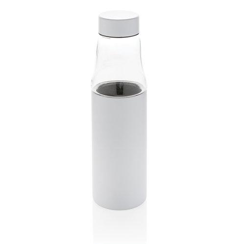 Botella antigoteo de cristal y al vacío blanco