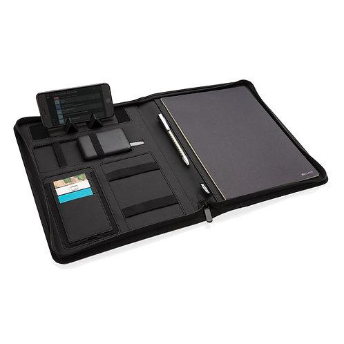 Portafolio A4 AIR carga inalámbrica 5W y cargador 5000 mAh negro