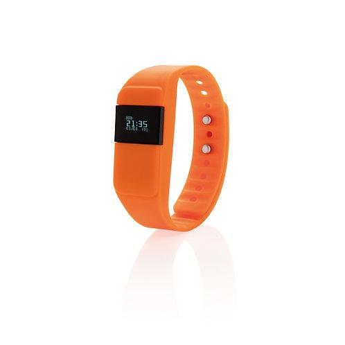 Monitor de actividad Keep fit naranja