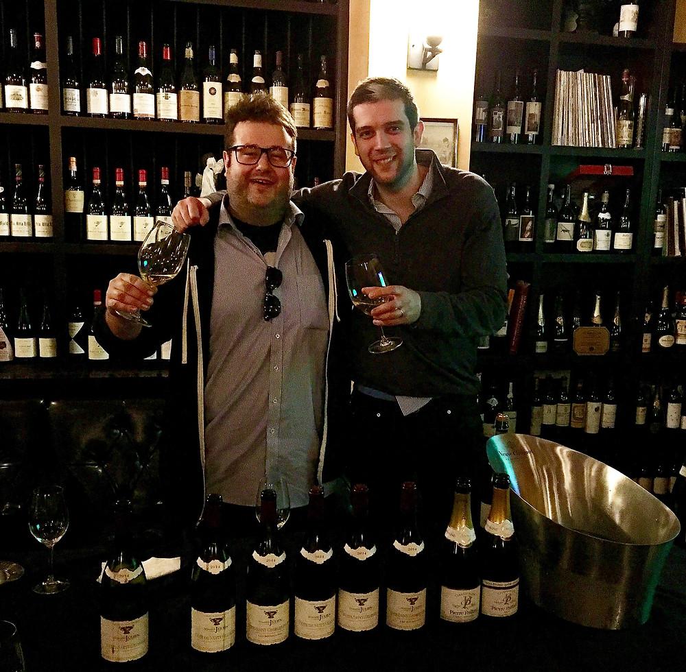 Etienne Julien and Quentin Paillard