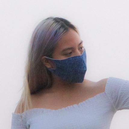 Arctic Blue Light Wash Face Mask