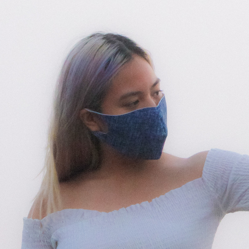 Arctic Blue Light Wash Face Mask