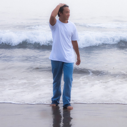 Men's Pacific Blue Medium Wash Straight Cut Jeans