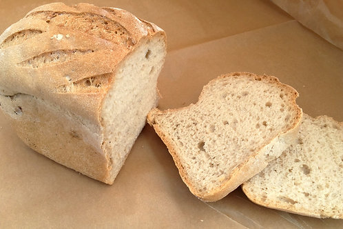 Brown Tinned Loaf