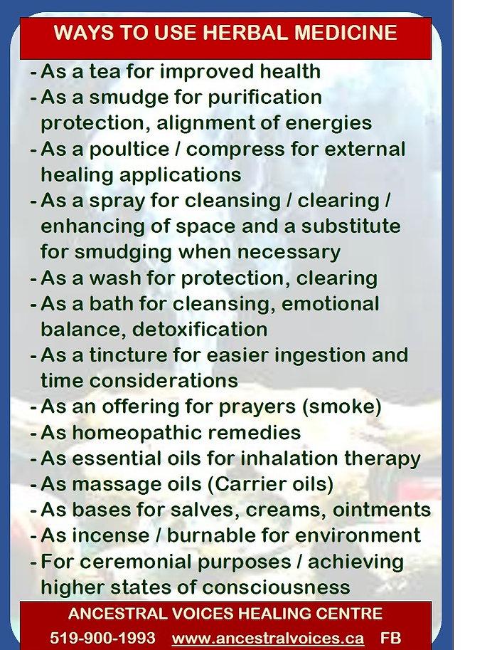 poster ways to use herbal medicine_edite