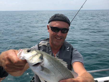 Reprise de la pêche en mer ou du bord entre Erquy et Saint Cast-Le-Guildo avec Pêche Evasion