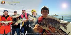 Sortie pêche en mer Erquy