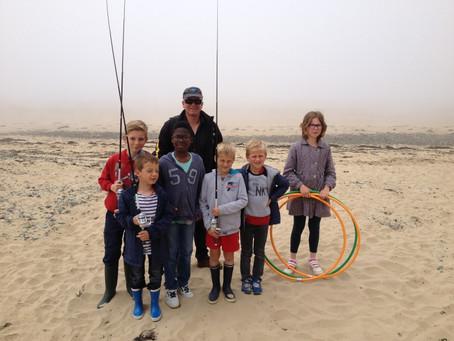 Pêche aux leurres et remise de diplômes pour les enfants d'Erquy