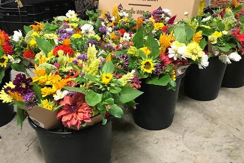 DIY Flower Bucket - Farmer's Choice