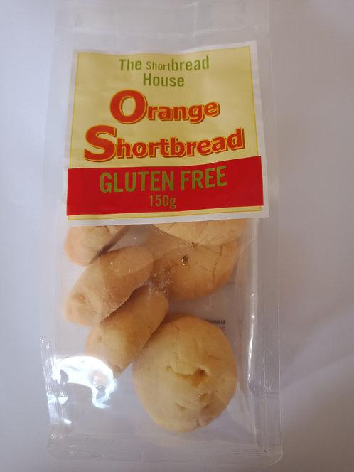 150g Gluten free Orange Shortbread