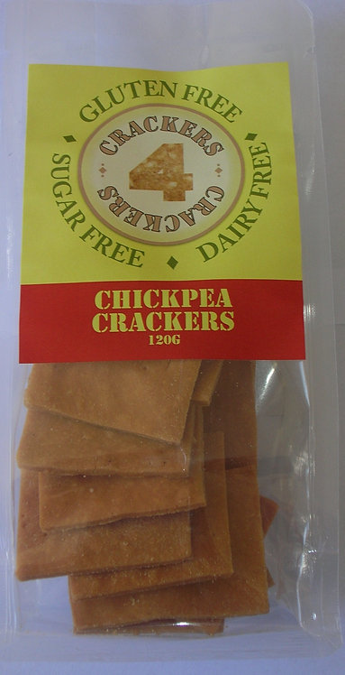120g Plain Chickpea crackers