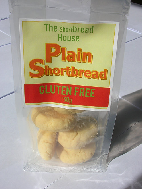 150g Gluten Free Plain Shortbread