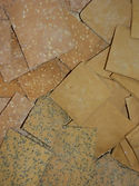 gluten free chickpea crackers
