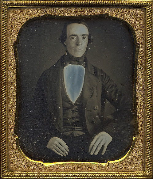 GORGEOUS! DIGNIFIED MAN with SOLARIZED SHIRT in FULL CASE 6th PLATE