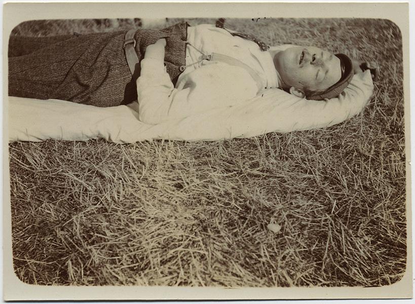fp10273(Man-Asleep-Grass)