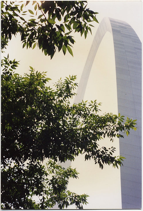 The MONUMENT GATEWAY ARCH ST LOUIS in ARTY SNAPSHOT