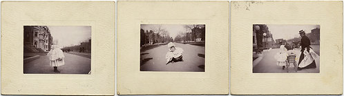 3 GLORIOUS PICS of CUTE PATRICIAN BOSTON BRAHMIN BABY w NANNY COMMONWEALTH AVE?