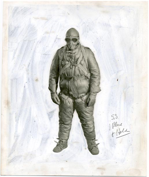 fp1165 (parachute suit press photo)
