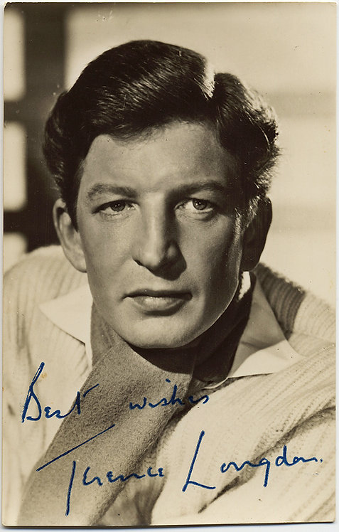 AUTOGRAPHED / signed image of MOVIE STAR/ACTOR TERRENCE LANGDON
