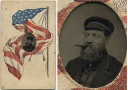 fp6398combo(TT_Man_Cigar_MountedAmericanFlag)