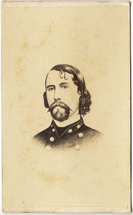 CIVIL WAR CONFEDERATE GENERAL A P Hill Ambrose Powell CDV CARTE DE VISITE