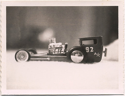 COOL TOY ROADSTER DRAG RACER!  92 a/c