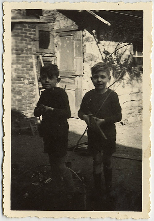 LITTLE BOYS with BIG EARS and GUNS!
