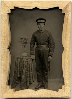 fp1247 (Japanese Soldier w Bonsai)