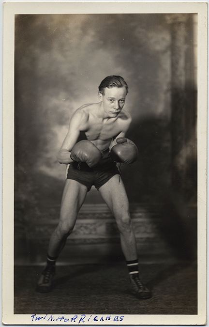 fp5939(RPPC_Boy_Boxer_EddieJonesLeaderOfTwinHurricanes)