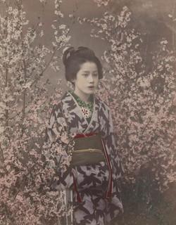 fp1820 (woman-flowering-bushes)