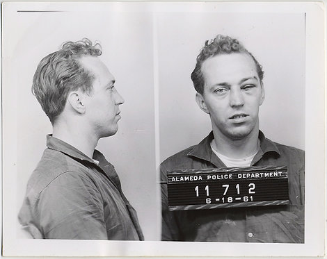 STUNNING ALAMEDA POLICE MUGSHOT MAN w WOUNDED SWOLLEN DAMAGED BLACK EYE