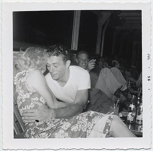 DRUNKEN HOT MESS MAN MOVES on SEXY LADY for LOVE KISS DRUNK BUDDY POINTS WATCHES