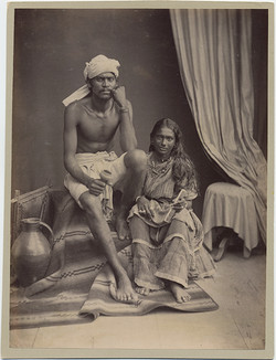 fp5253(PF_CulverPictures_Man&Woman_SouthAmericanNatives_EthnicDress_Turban)