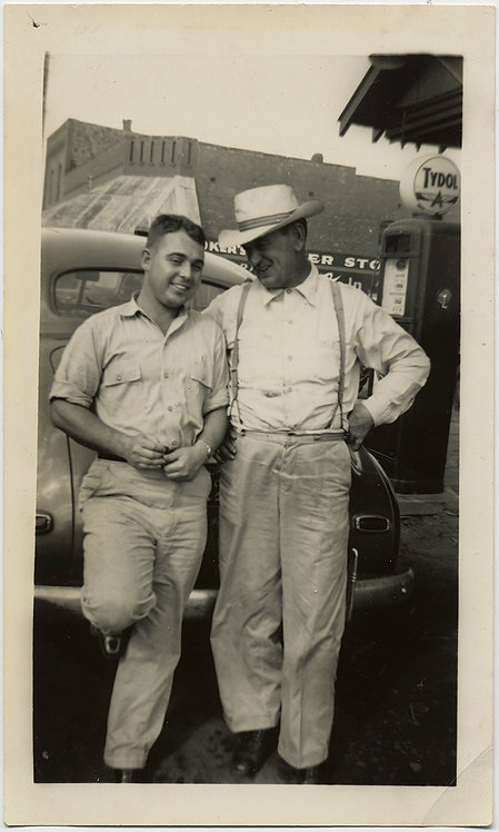 TWO GOOD OL BOYS CHAT HANG OUT at TYDOL VINTAGE GAS STATION