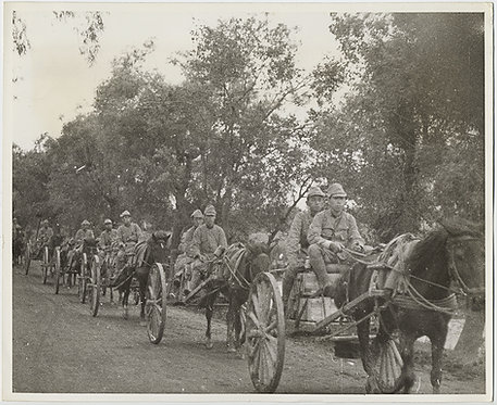 EXTRAORDINARY SINO-JAPANESE JAPAN CHINA WAR PRESS PHOTO JAPANESE TROOPS ADVANCE