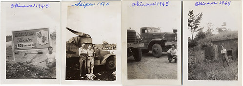 SERVICEMEN SNAP TIME in OKINAWA and SAIPAN incl KAMIYAMA THEATRE WWII PACIFIC