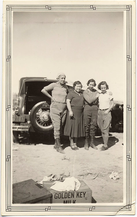 HOT BUTCH WOMEN FACE RIGORS of DESERT w GOLDEN KEY EVAPORATED MILK LESBIAN INT