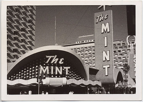 FAMOUS VEGAS DIGS HOTEL MID CENTURY ARCHITECTURE MINT HOTEL