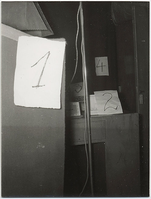 UNUSUAL MYSTERIOUS NUMBERS in ROOM INDICATE ENIGMATIC PURPOSE