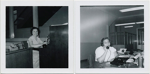 ON the PHONE TELEPHONE WOMEN! SWITCHBOARD OPERATOR & SECRETARY