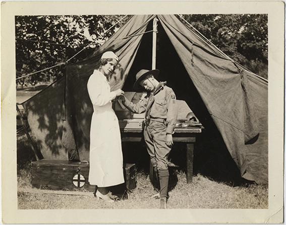 fp4404(BoyScout_Nurse_Tent)