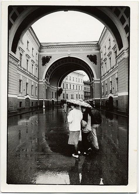 HORST SCHMECK RAINY ST. PETERSBURG/LENINGRAD USSR SOVIET GENERAL STAFF HQ RUSSIA