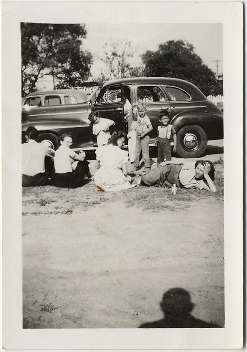 SHADOW WATCHES FAMILY group!  VINTAGE CAR!