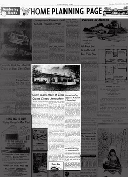 North Tonowanda Evening News, 1957