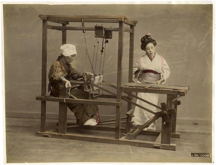 fp1230 (Japanese Women at Loom)