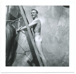 fp2619(Man_Nude_OnLadder)