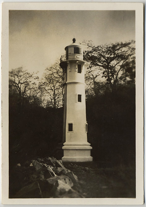 STRANGE LIGHTHOUSE STRUCTURE in NATURAL AREA