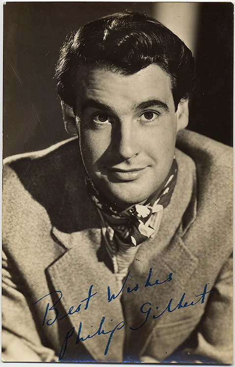AUTOGRAPHED HANDSOME MOVIE STAR ACTOR PHILIP GILBERT!