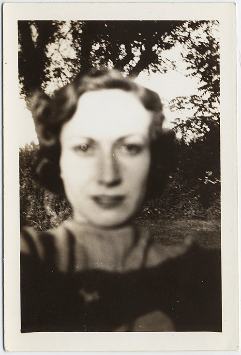 STUNNING HAUNTING WOMAN TOO CLOSE to LENS OUT of FOCUS BLUR EYE DISTORTION