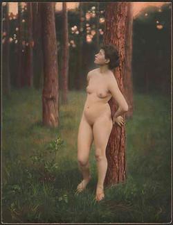 fp5338(Nude_Girl_Tinted_TreeGreenGrass)